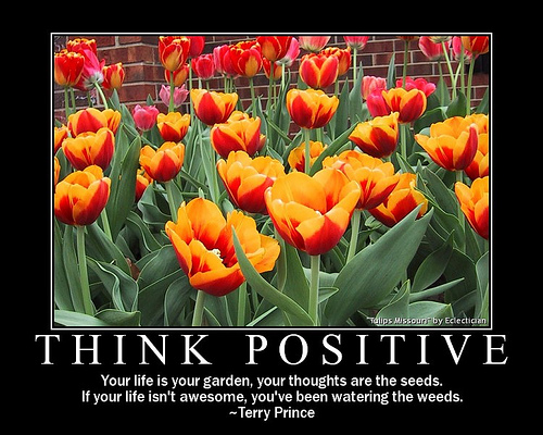 think-positive-poster